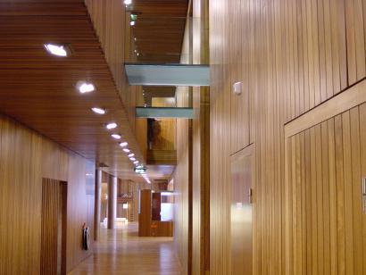 Además de la madera maciza han ido surgiendo en el mercado productos derivados que la sustituyen cuando pretendemos una solución más económica.