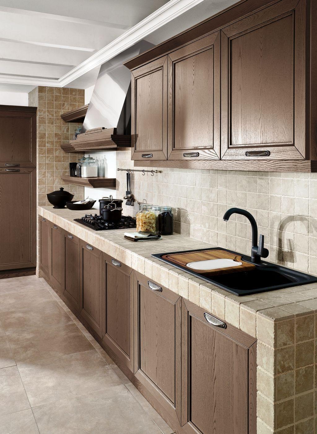 Su cocina también puede ser recubierta con azulejos de cerámica.