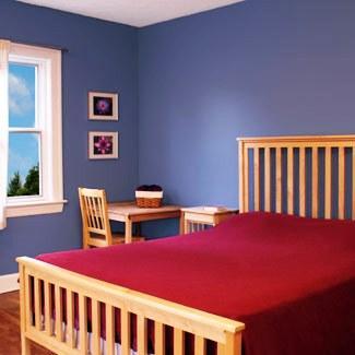 El azul calma pero en exceso puede volver el ambiente frío y vacío.