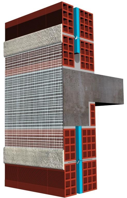 El aislamiento térmico de la envolvente de un edificio es una solución efectiva para la resolución de los puentes térmicos. En invierno, el flujo de calor interior se escapa por estos puntos provocando un enfriamiento en las paredes interiores y el riesgo de condensación de la humedad relativa del interior de la vivienda.