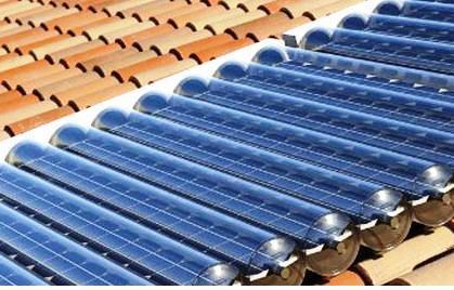 Los paneles Solares térmicos transforman la radiación solar en energía térmica.