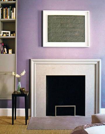 El púrpura calma el sistema nervioso pudiendo transmitir la sensación de melancolía.