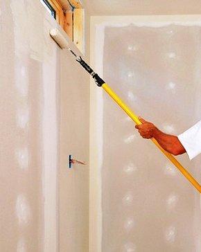 Elija pintura con rodillo antes que pintura con pistola ya que la calidad acostumbra a ser superior.
