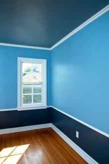 En la construcción civil la pintura representa una operación de gran importancia.