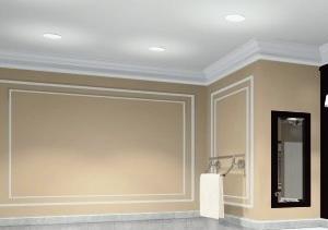Antes de aplicar las capas de pintura es esencial comprobar la planitud y realizar la humidificación paramento cuando está demasiado seco.
