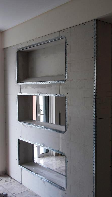 El pladur tiene muchas ventajas sobre las paredes interiores en relación con la ejecución de paredes de ladrillo tradicionales.