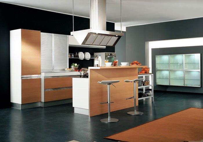 Cada cocina puede tener una organización de los espacios única.