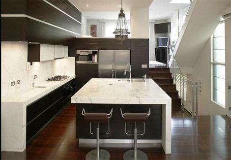 Reformas reforma de la cocina casa viva obras for Reloj cocina casa viva