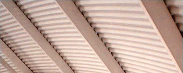 Hay ciertos tipos de cubiertas adecuadas para salvar grandes luces.