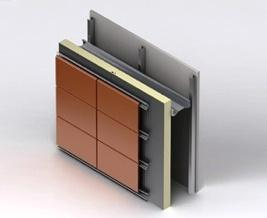 El revestimiento de las paredes exteriores en edificios, permite proceder a la protección térmica del envolvente del edificio vertical para cumplir con los requisitos y proporcionar protección contra el clima peticiones.