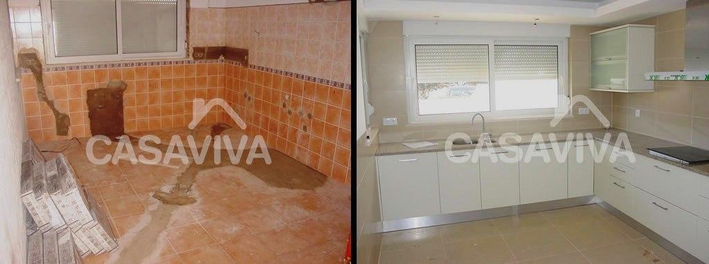 Portfolio cocinas casa viva obras - Reformas antes y despues ...