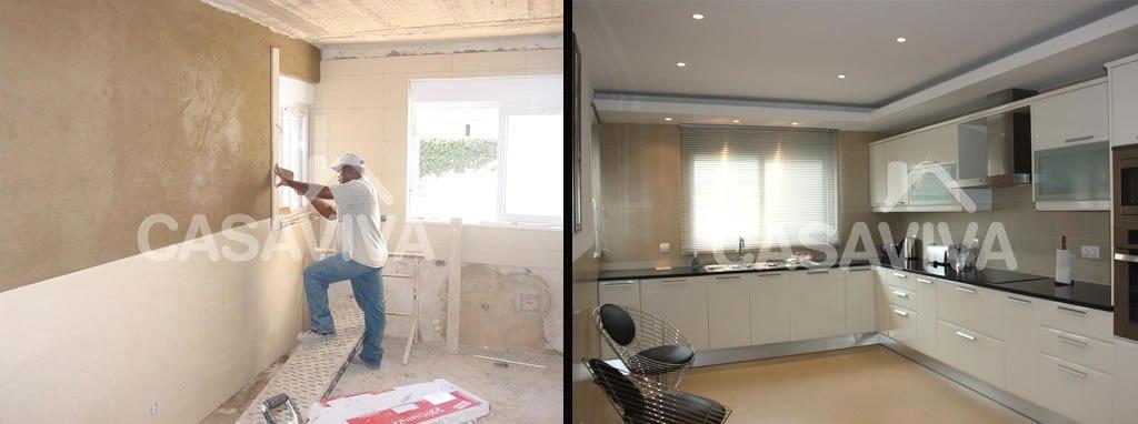 Portfolio cocinas casa viva obras - Reformas de cocinas antes y despues ...